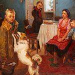 Какие пословицы уместны для картины «Опять двойка» (Ф. П. Решетников)?