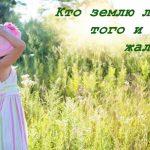 Пословицы о бережном отношении к природе и любви к ней