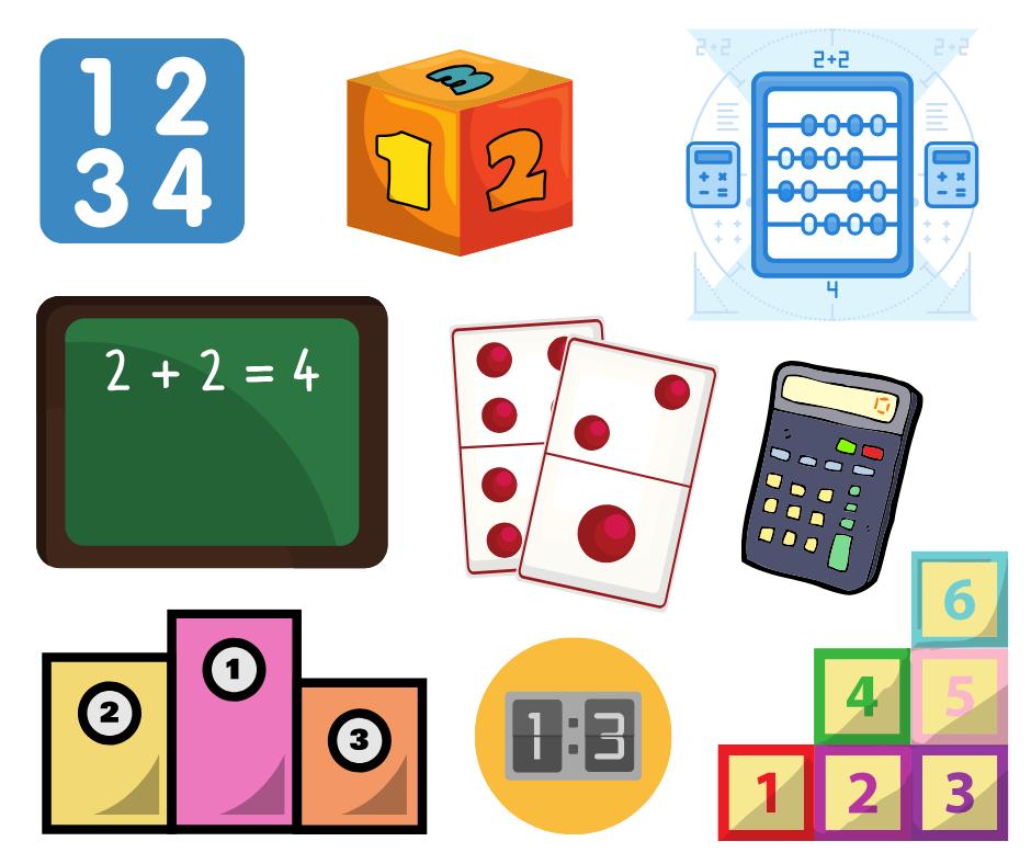Картинки к загадкам с числами для проекта в 1 классе
